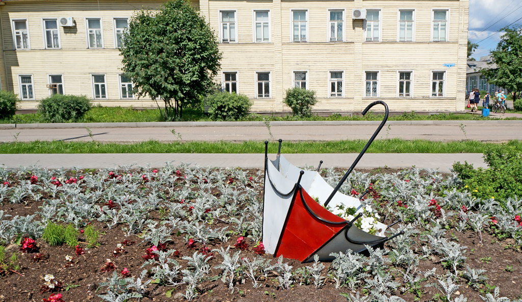 Зонтик для цветов