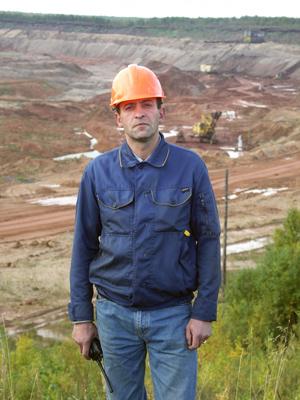 Олег Фенглер — начальник горной службы
