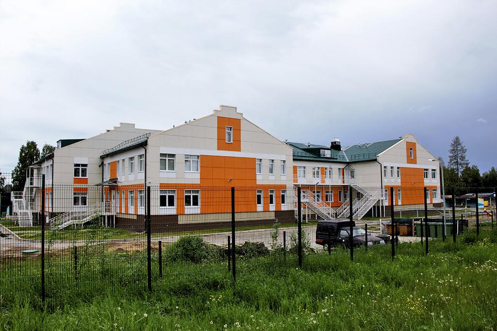 Новый детский сад на240мест