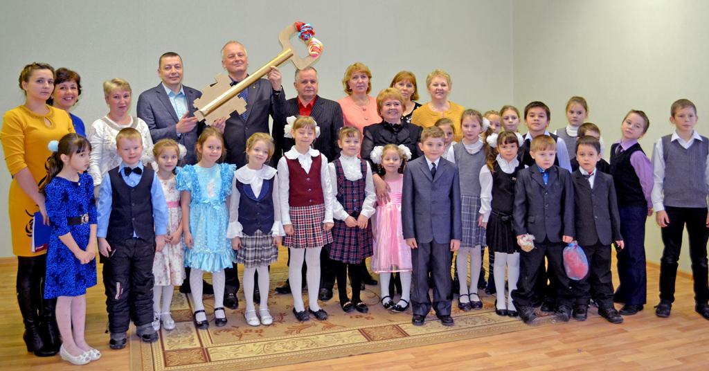 Открытие детского сада в поселке Самодед