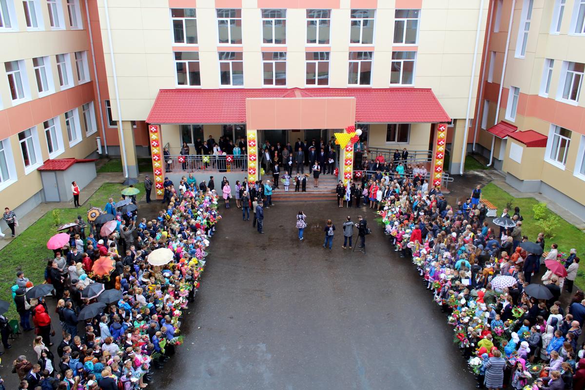 Открытие школы вУрдоме стало настоящим праздником