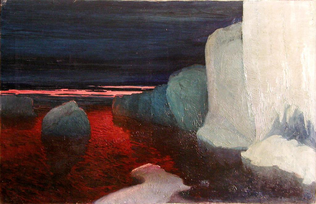Полночь во льдах, 1916 г.