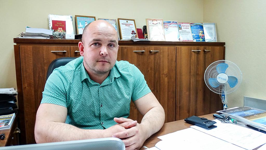 Владимир Поляков— начальник СП«Няндомский дорожный участок»