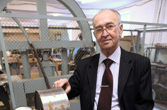 Геннадий Прокофьев — профессор кафедры технического инжиниринга высшей инженерной школы