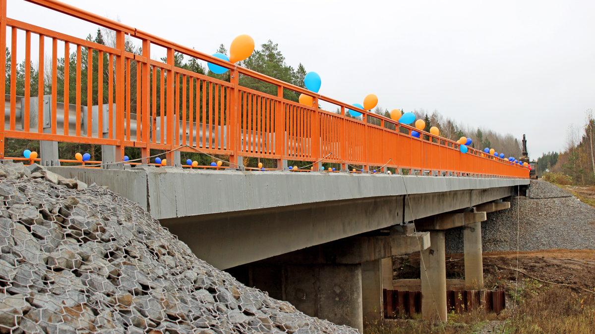 Мосты легли наопоры