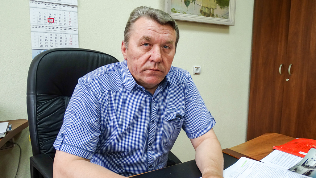 Сергей Дмитриевич Старых — генеральный директор АО «Няндомамежрайгаз»