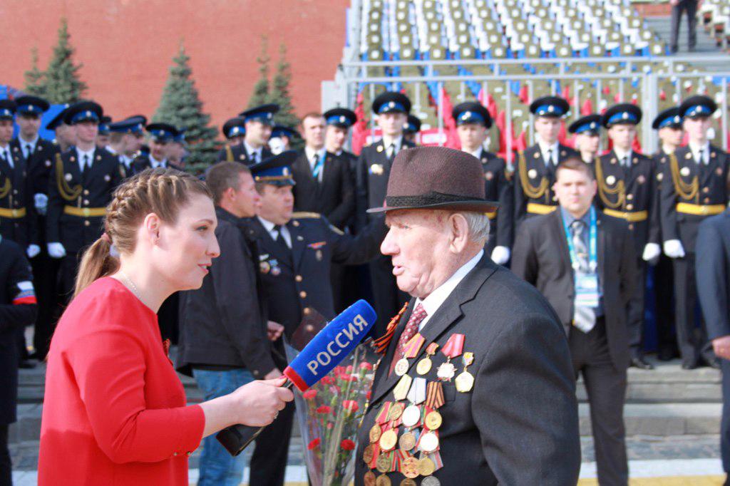 На параде на Красной площади в честь 70-летия Великой Победы