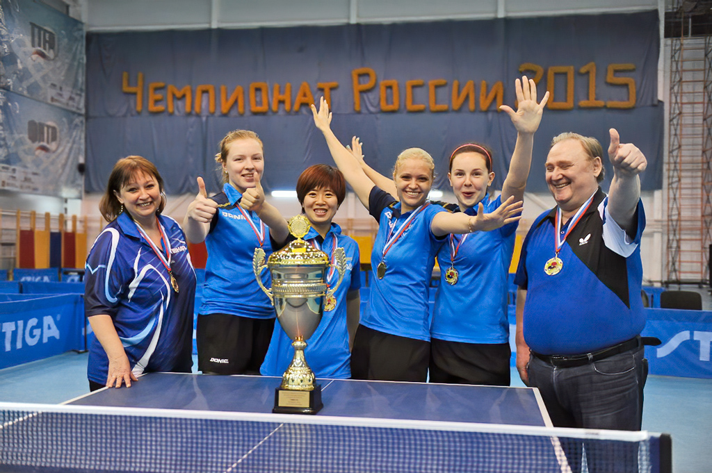 Сборная команда клуба, чемпионы России-2013, 2015