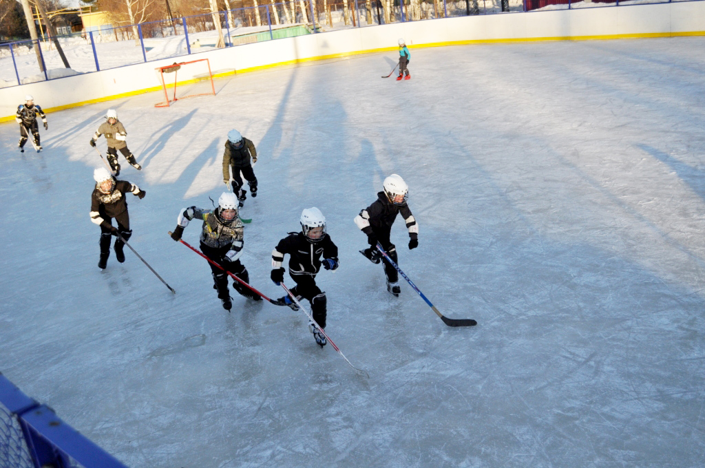 Детский хоккей — спортивный бренд района