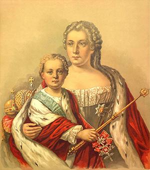 Иван VIАнтонович иАнна Леопольдовна