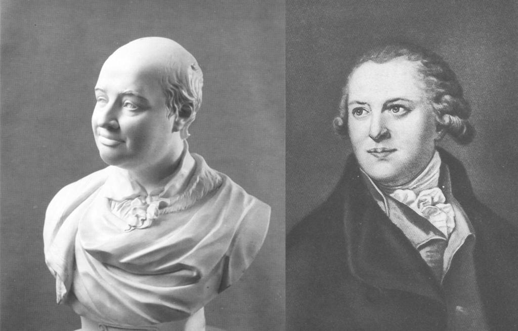 Федот Иванович Шубин и скульптурный мраморный портрет Михаила Васильевича Ломоносова 1792 г.