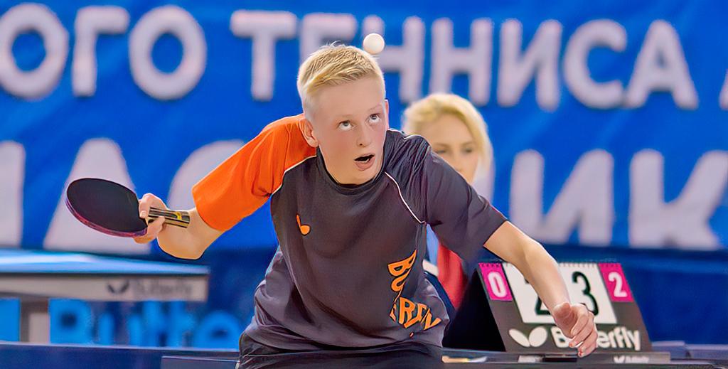 Надежда архангельского тенниса — Павел Тарутин