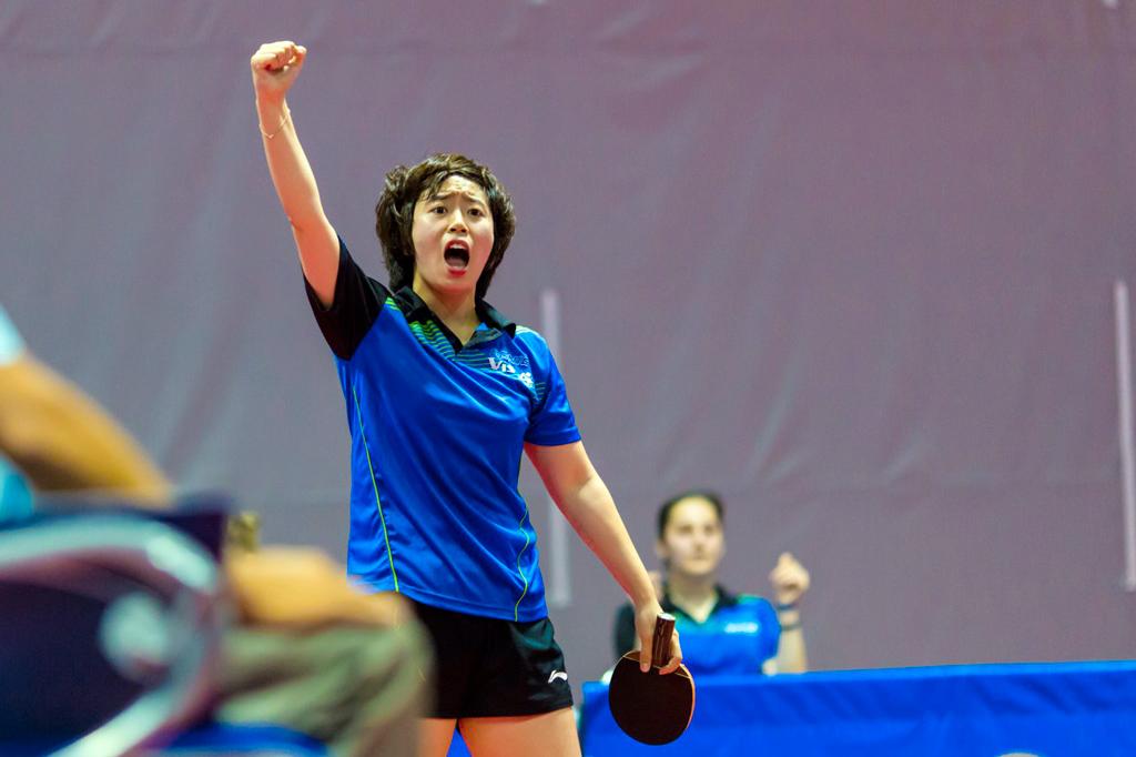 Цзоу Янг, двукратная чемпионка России