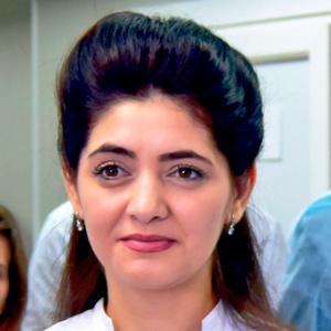Шахназ Абдулазизова, врач-терапевт, врач УЗД