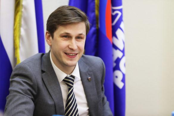 Иван Новиков, секретарь Архангельского регионального отделения партии «Единая Россия»