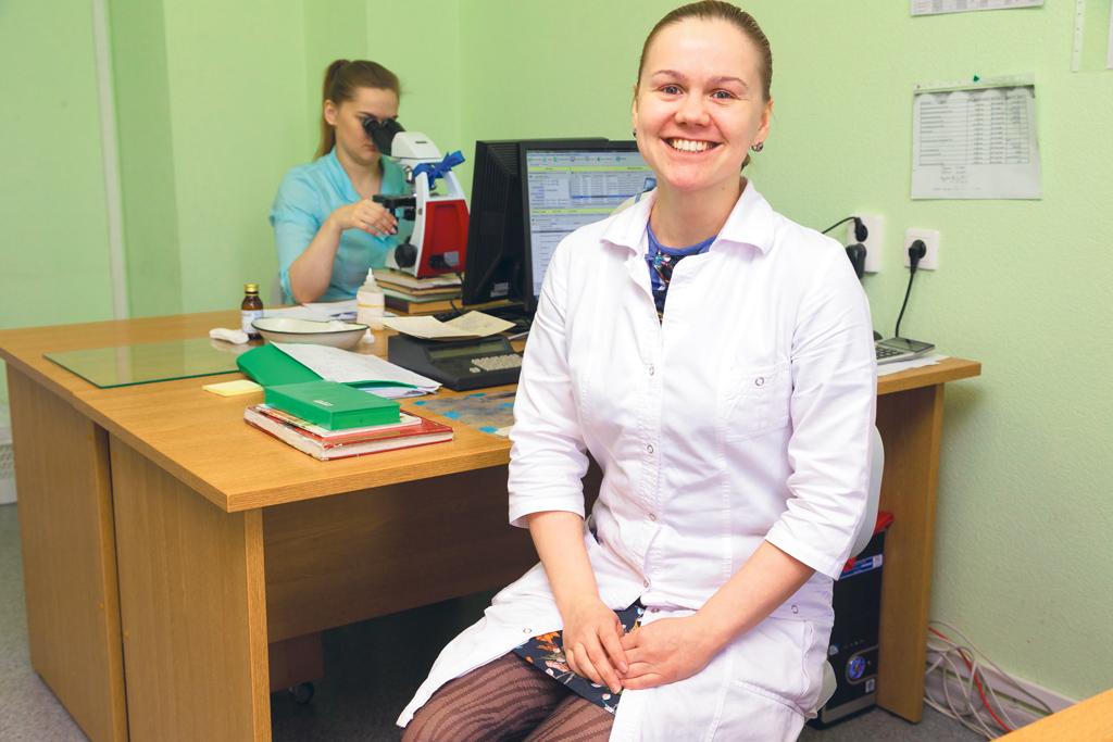 Врач клинической лабораторной диагностики Юлия Хованова