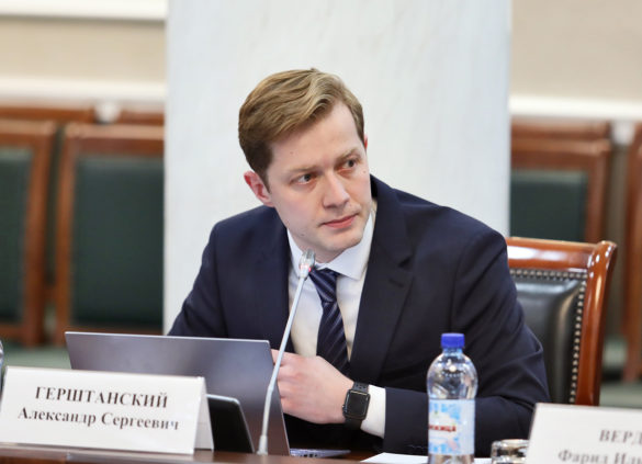Исполняющий обязанности министра здравоохранения региона Александр Герштанский