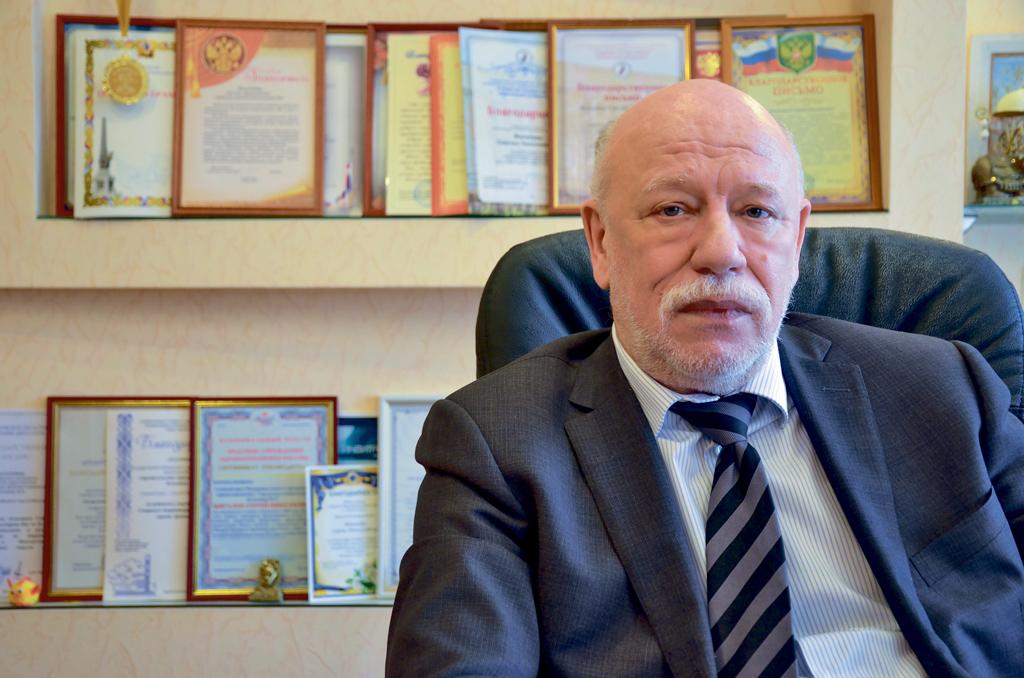 Главный врач Архангельской городской клинической больницы №6 Сергей Жигалов