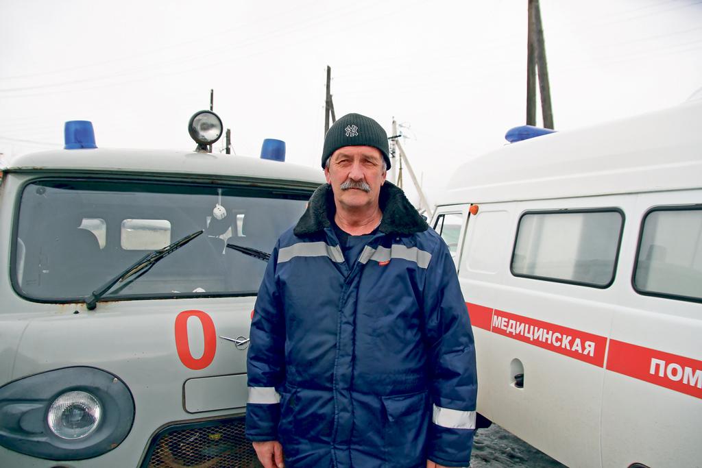 Водитель «скорой» Владимир Комаров