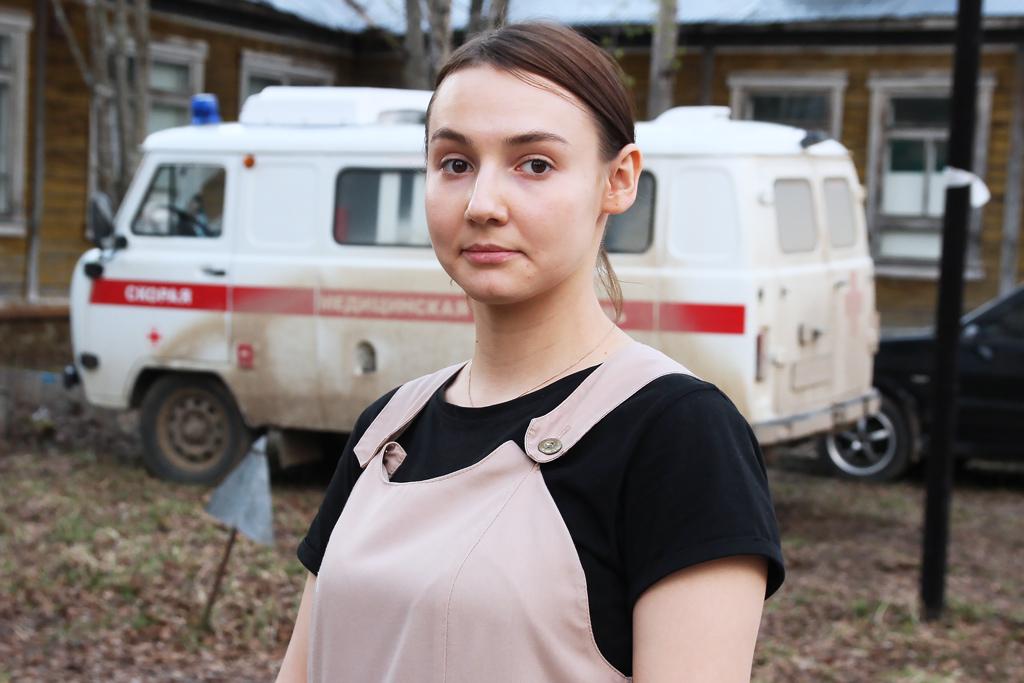 Фельдшер Татьяна Минина
