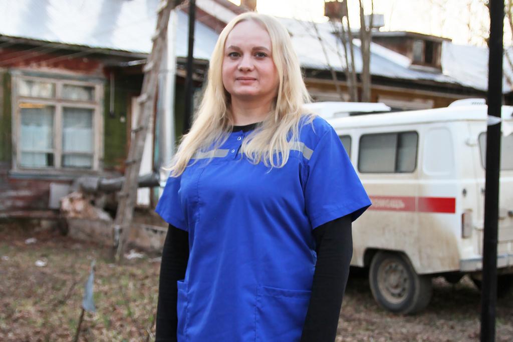 Фельдшер Дарья Малкова