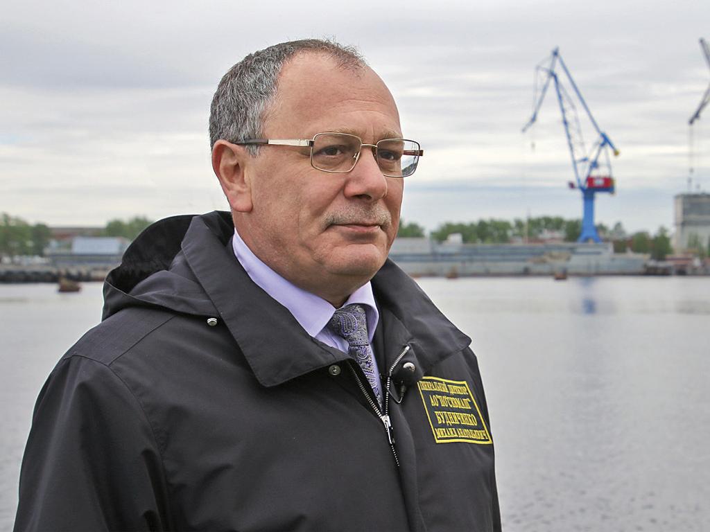 Михаил Будниченко, генеральный директор АО «ПО «Севмаш»