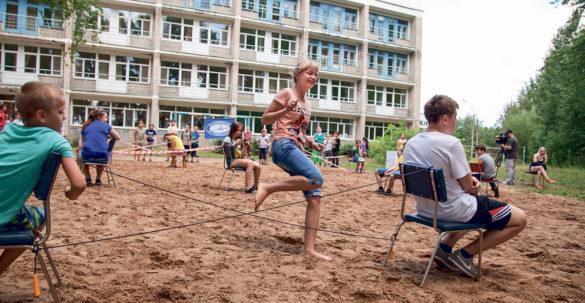 Летние каникулы — весело и с пользой для здоровья