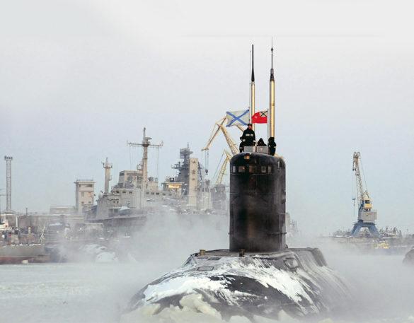 Большая дизель-электрическая подводная лодка «Калуга»