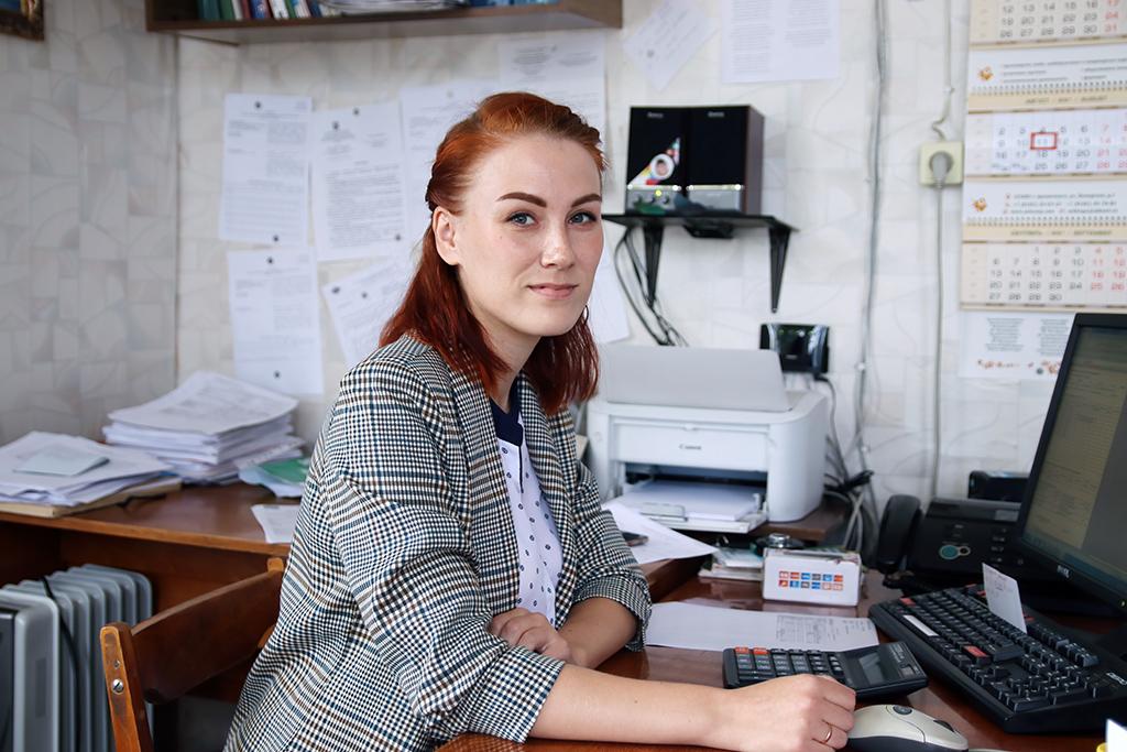 Главный бухгалтер ПО«Усть-Вашка» Галина Базарева