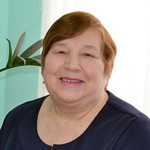 Сталина Бархатова, председатель совета ветеранов райпо