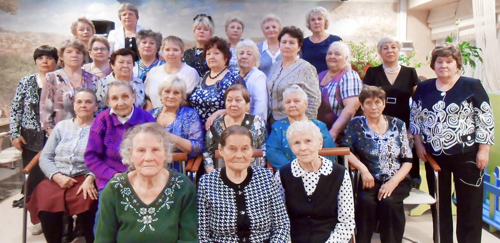 Ветераны горпо— достояние всего округа