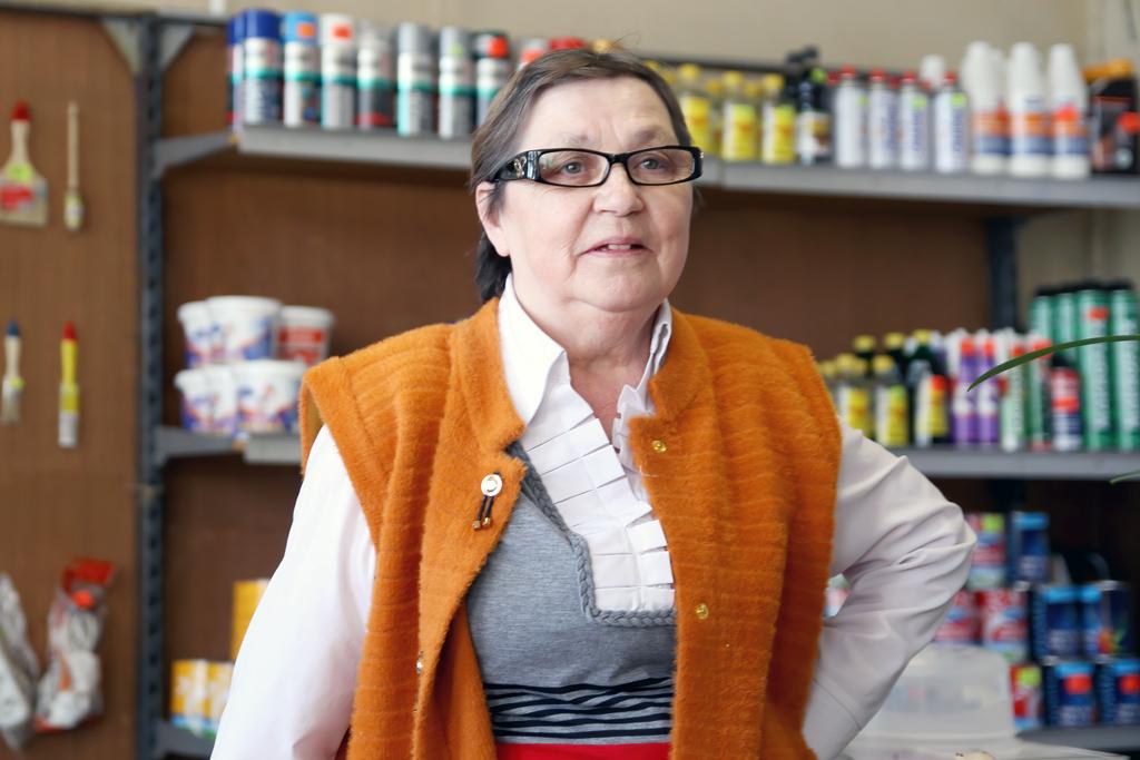 Татьяна Галуза, продавец промтоварного магазина