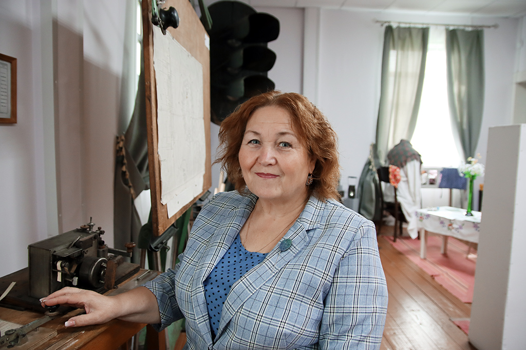 Наталья Евстропова, заведующая музеем