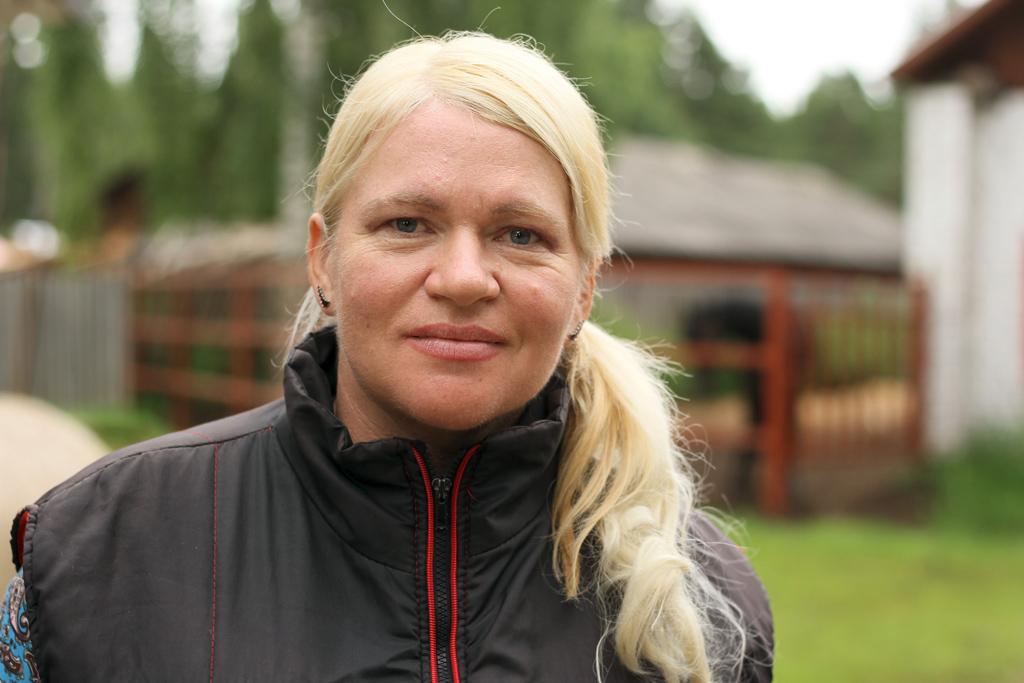 Елена Леонтьева, специалист коневодческого комплекса
