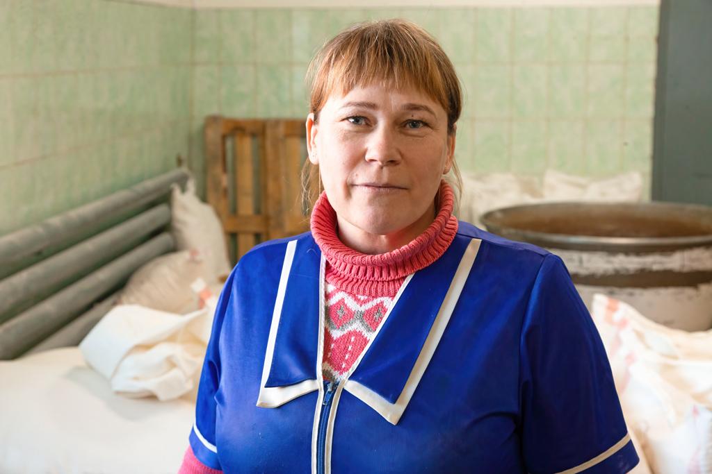 Ольга Жуковская, заведующая производством компании «Вилегодский хлеб»
