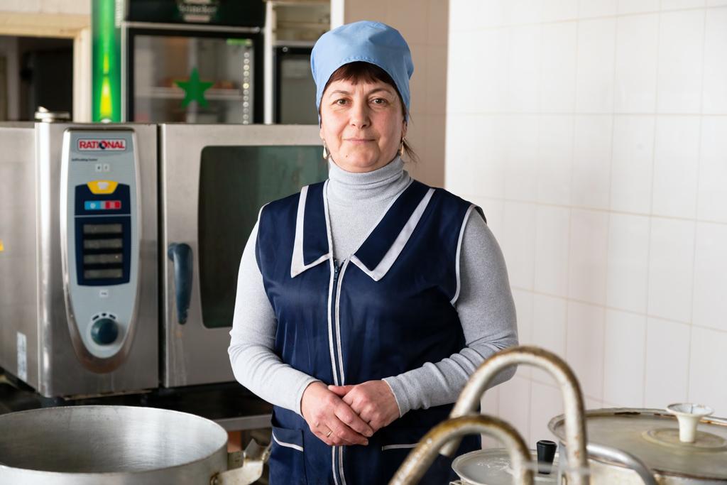 Ирина Сподобец, шеф-повар «Огонька»
