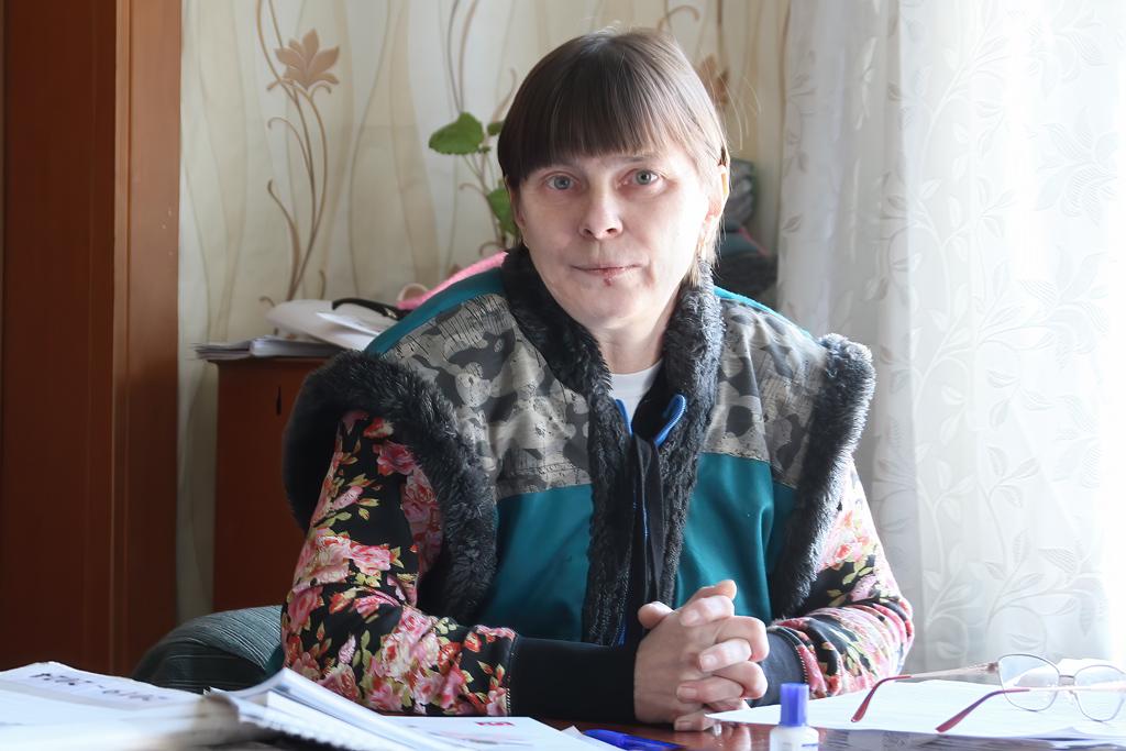 Светлана Коршакова, бухгалтер ПО«Быченский совхозрыбкооп»