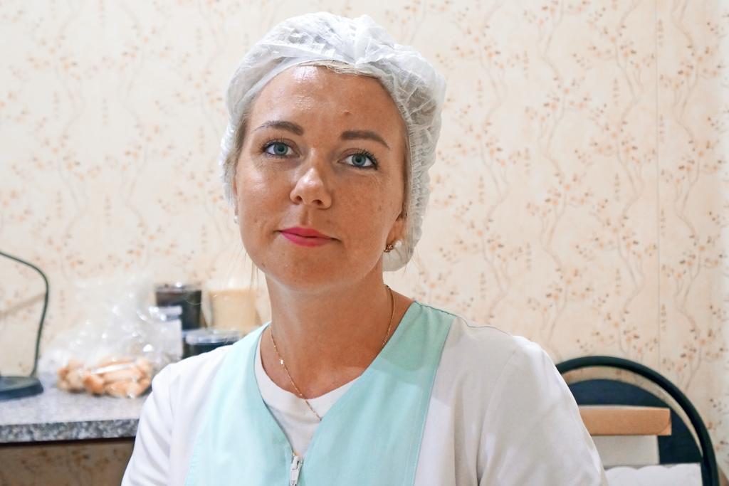 Татьяна Кринина, начальник производства