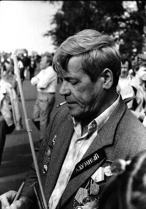 Рудольф Александрович Кунников напраздновании юбилея «Дервиша» вАрхангельске в1991году. Фото Петра Веселова