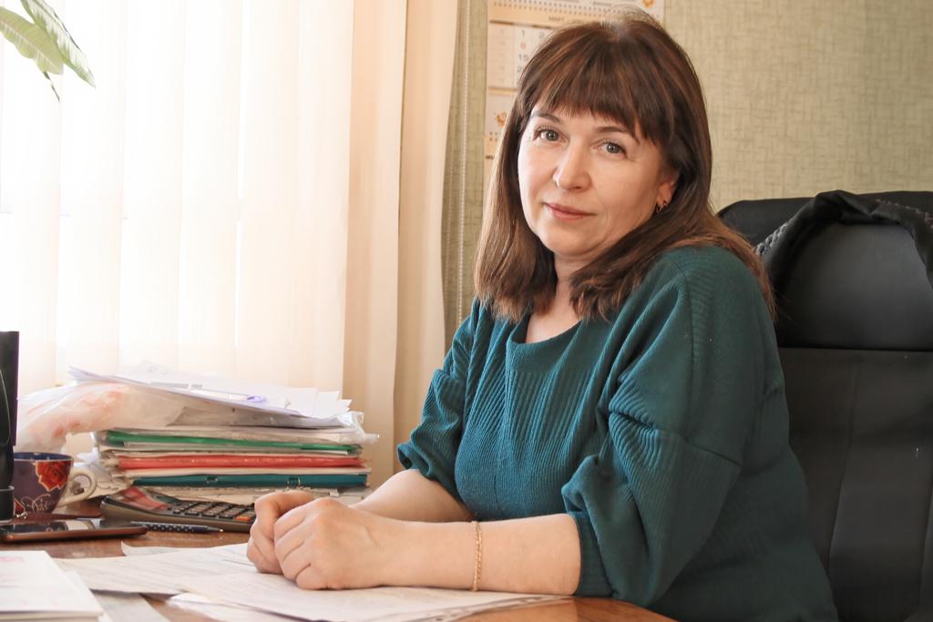 Людмила Лешукова, председатель правления Пертоминского ПО