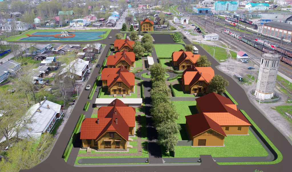 Таким видится Мамонтовский квартал архитекторам