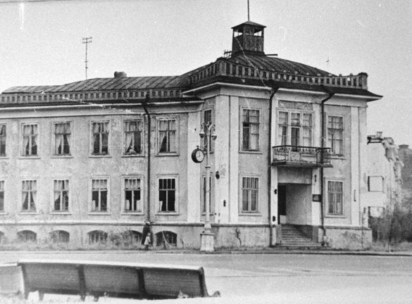 Здание, вкотором вгоды войны размещался штаб Беломорской военной флотилии. Автор фото: Ф.Ф.Соколов
