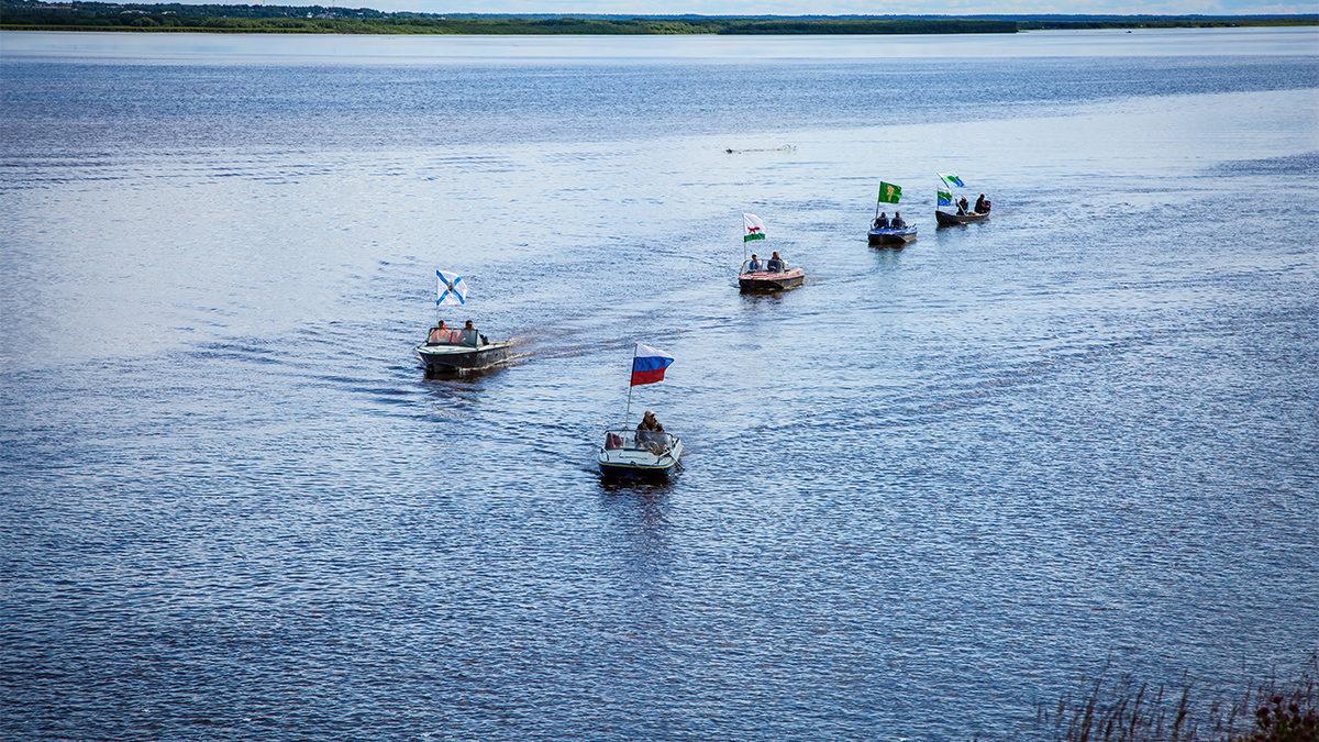 Увидеть, как река Мезень поворачивает вспять