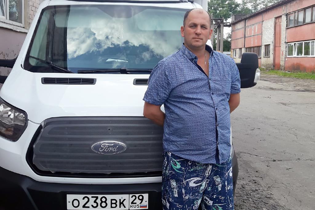 Александр Попков, водитель
