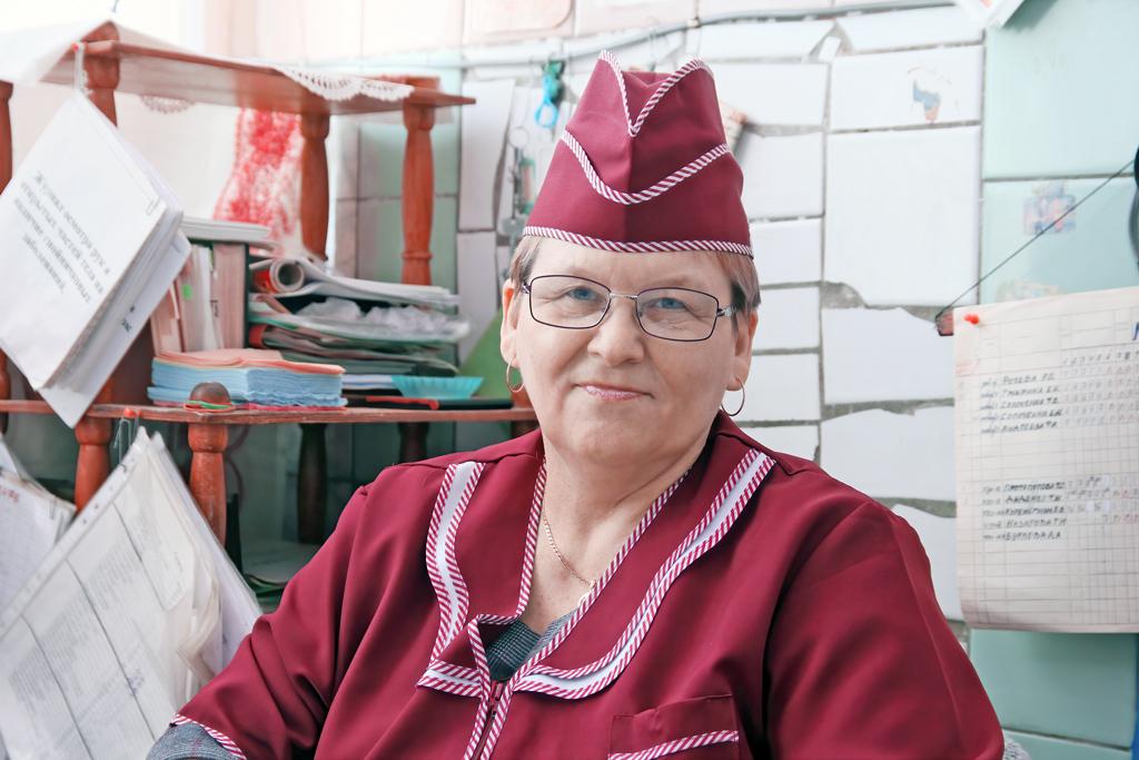 Раиса Рочева, заведующая столовой