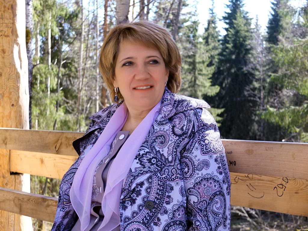 Валентина Рудкина, глава Приморского района