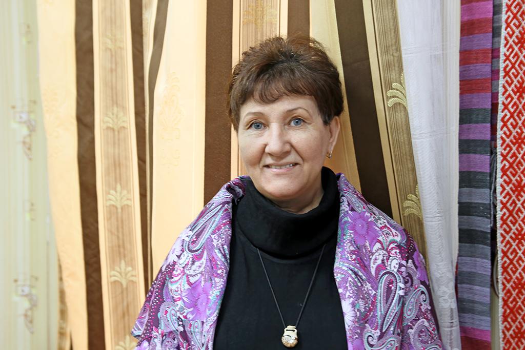 Валентина Харитонова, мастер поткачеству