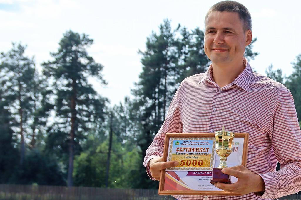 Александр Чирков, генеральный директор агрофирмы «Вельская»