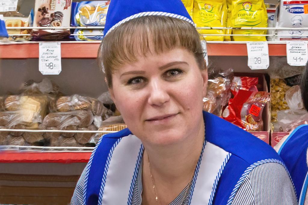 Татьяна Некрасова, заведующая магазином