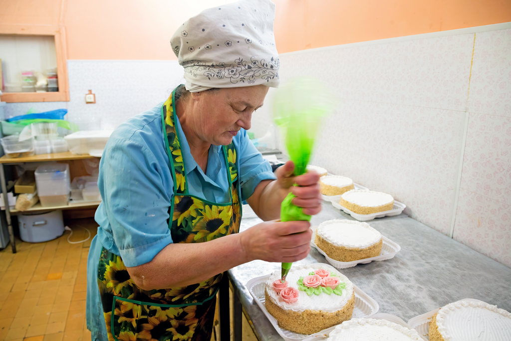 Кондитер Ольга Григорьевна Байбородина